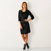 Blancheporte Robe unie noir 40