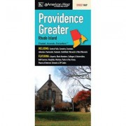 Universal Map Providence Greater Street Map Fold Map (Set of 2) 14094
