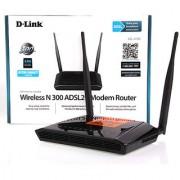 D-Link DSL-2750U N300 Wireless Modem + Router