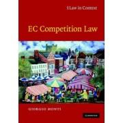 EC Competition Law by Giorgio Monti