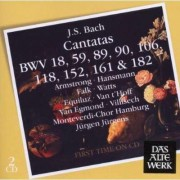 Jurgen Jurgens - Bach Cantatas (0825646959921) (2 CD)