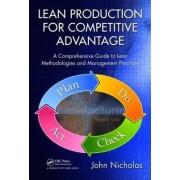 Lean Production for Competitive Advantage by John M. Nicholas