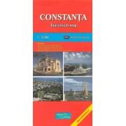 Constanta. Harta turistica. Editia in limba engleza