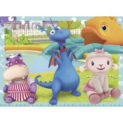 PUZZLE ANIMALE JUCAUSE - 2x24 PIESE