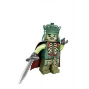 LEGO Lord of the Rings - King of the Dead Minifigure (2013) with longsword, shield, and cape by LEGO (English Manual)