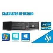 Calculator HP DC7900 SFF, Core2Duo E6550 2.33GHz, 2GB DDR2, 80GB, DVD