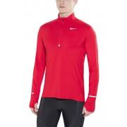 Nike Dri-FIT Element Half-Zip hardloopshirt rood 2016 Hardloopshirts