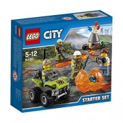 Lego - 60120 - City - Jeu de Construction - Ensemble de Démarrage du Volcan