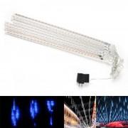 Light Blue Festival de la décoration de jardin 30 - LED Meteor Shower Rain Lumières style de tube ( DC 12V / US Plug )