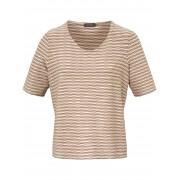 Basler Rundhals-Shirt langem 1/2-Arm Basler mehrfarbig