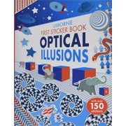 First Sticker Book Optical Illusions by Sam Taplin