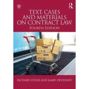 Text, Cases and Materials on Contract Law by James Devenney