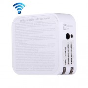 Intelligent Audio and Visual Mobile WiFi Router with Camera US Plug
