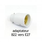 Vision-EL Adaptateur culot B22 vers E27