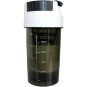 Adraxx Cyclone 500 mm Food Grade Mixer with Cup 500 ml Shaker, Sipper(Pack of 1, White, Black)