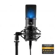 auna MIC-900 LED USB Cardioid Studio Condenser Microphone LED Black