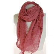Sciarpa modal rosa