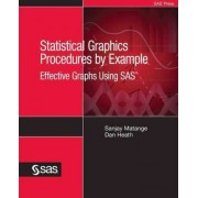 Statistical Graphics Procedures by Example by Sanjay Matange