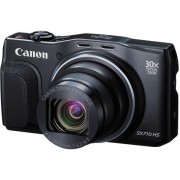 Aparat Foto Digital Canon PowerShot SX710 HS (Negru), Filmare Full HD, 20.3 MP, Zoom Optic 30x, Wi-Fi