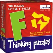 Creative Pre-School - Thinking Puzzles- Letter Puzzle- F