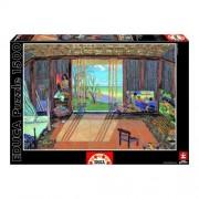 Educa Gauguin műterme puzzle, 1500 darabos