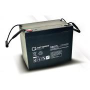 Batería de plomo AGM cíclica 12v 77Ah 12LC-75 Q-Batteries