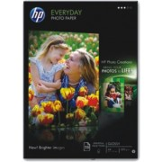 Hartie photo pt imprimante inkjet HP Everyday semi lucioasa A4 170g/mp 25coli/top (Q5451A) [A]