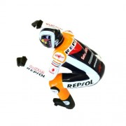 Bike Rider Figure Dani Pedrosa MCB002DH Grand Prix motorcycle racer Japanese Model by Kyosho
