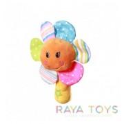Плюшена бебешка играчка цвете Babyono 1146