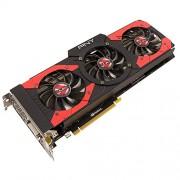 PNY NVIDIA GeForce GTX 1070 XLR8 OC Edition 8 GB Memoria GDDR 256 bit scheda grafica PCI Express 3 DP/DVI/HDMI, colore: nero