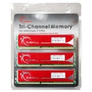 G.Skill DDR3 6GB PC1600 CL9 KIT (3x2, F3-12800CL9T-6GBNQ) Kit Memoria