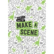 Make a Scene - Dinosaurs by Hardie Grant Egmont