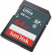 Card de Memorie SanDisk Ultra SDXC 64GB Clasa 10 UHS-I 48MBps