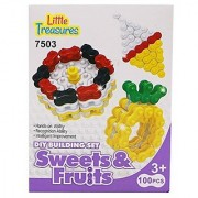 Little Treasures Chain Links Building block mega 100 pieces toy set for childrens educational creativity fun