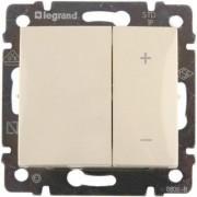 Valena fényerőszabályzó nyomógombos, 40-600W, elefántcsont, Legrand 774174