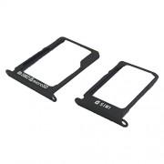 Samsung Galaxy A3 Sim + Memory Card Tray (Black) (SP)