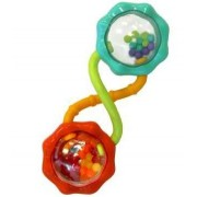 Game / Play Bright Starts Rattle And Shake Barbell Rattle, Bright, Start, Pretty, Pink, Play, Gym Toy / Child / Kid