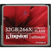 Card Kingston CF Ultimate 32GB x266 cu MediaRECOVER