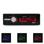 auna MD-120.2BK Autoradio USB SD MP3 4x75W max. Line-Out