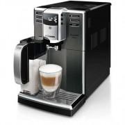 Philips Автоматична еспресо машина Saeco Incanto-Приготвя 7 вида кафе напитки, вградена приставка за разпенване и кана за мляко, титанова неръждаема стомана, 5-степенна регулируема мелачка