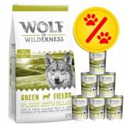 Wolf of Wilderness Zestaw Wolf of Wilderness, karma sucha i mokra - Zestaw II