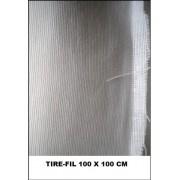 Tire fil coton blanc largeur 100 cm au metre