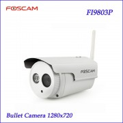 Foscam FI9803P 1.0 Megapixel HD 720P Wireless Outdoor Waterproof IP Camera P2P CMOS Night Vision 20m IP Camera