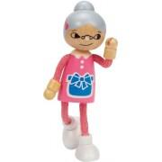 Hape Beleduc E3504 Bambola Di Legno La Nonna