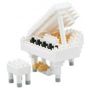 Nanoblock NBC-053 White Grand Piano