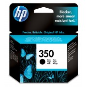 HP 350XL Black Inkjet Print Cartridge Contains one 350XL black inkjet print cartridge for use in selected printers.