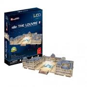 Cubic Fun L517H - 3D Puzzle Museo del Louvre con LED - Parigi - Francia