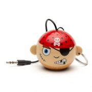 Boxa portabila KitSound Trendz Mini Buddy Pirate, KSNMBPIR, Multicolor