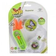 Bug Collection Set B ( Tweezers, Magnifying Glass, Pocket Microscope)