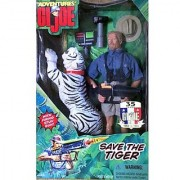 The Adventures of G.I.Joe Save the Tiger 12 Inch Action Figure Adventure Set